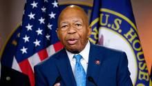 Der demokratische US-Kongressabgeordnete Elijah Cummings
