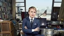 Ronan Farrow in einer Produktionsloft in New York