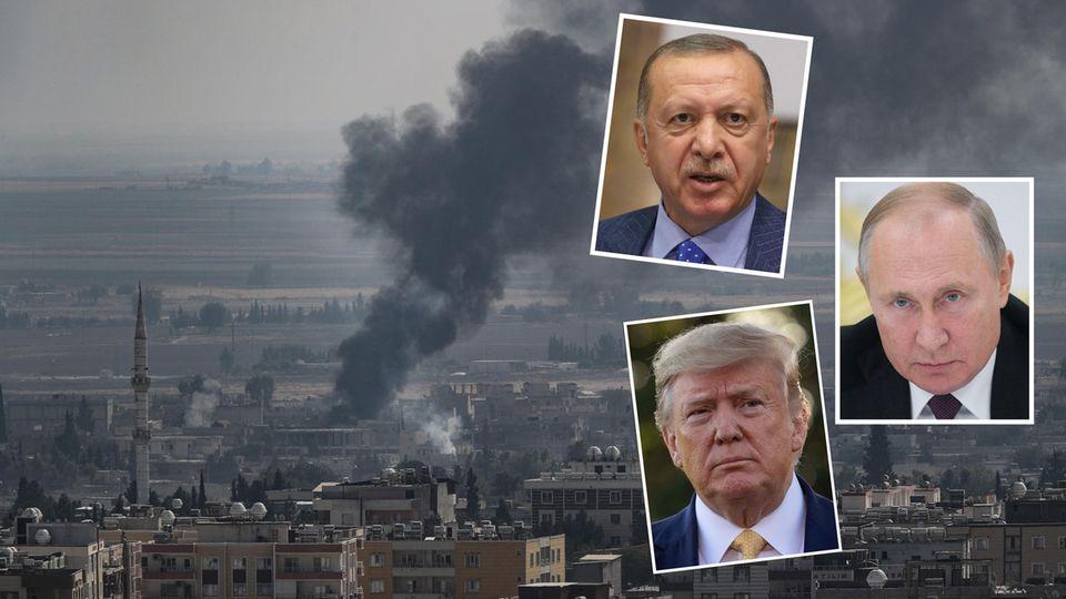 Gewinner und Verlierer: Wer spielt welche Rolle im Kampf um die Macht in Syrien?