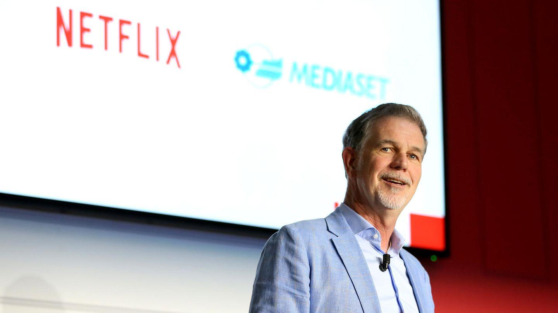 Netflix-Chef Reed Hastings ist trotz des wachsenden Wettbewerbs guter Dinge