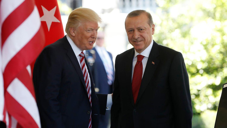 Donald Trump und Recep Tayyip Erdogan vor zwei Jahren im Weißen Haus