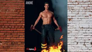 André Dupont im Australian Firefighters Calendar