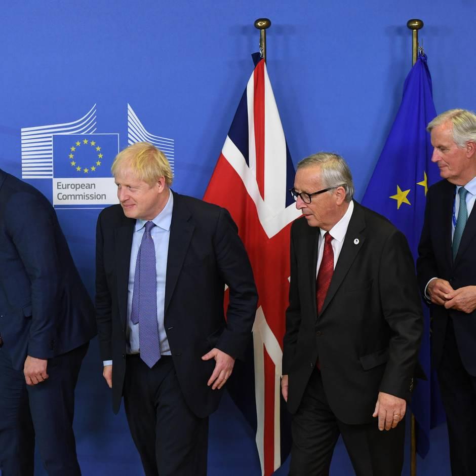 Brexit-Deal: EU billigt neues Brexit-Abkommen, aber Zustimmung im britischen Unterhaus ist unsicher