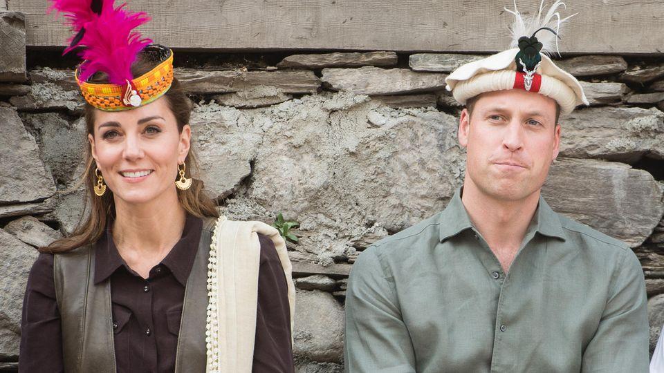 Kate und William bei ihrem Besuch in Pakistan