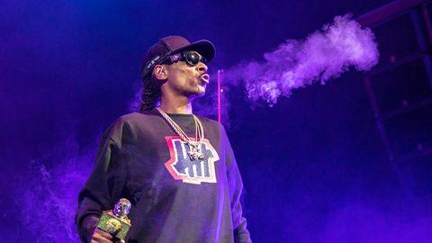 Snoop Dogg auf der Bühne