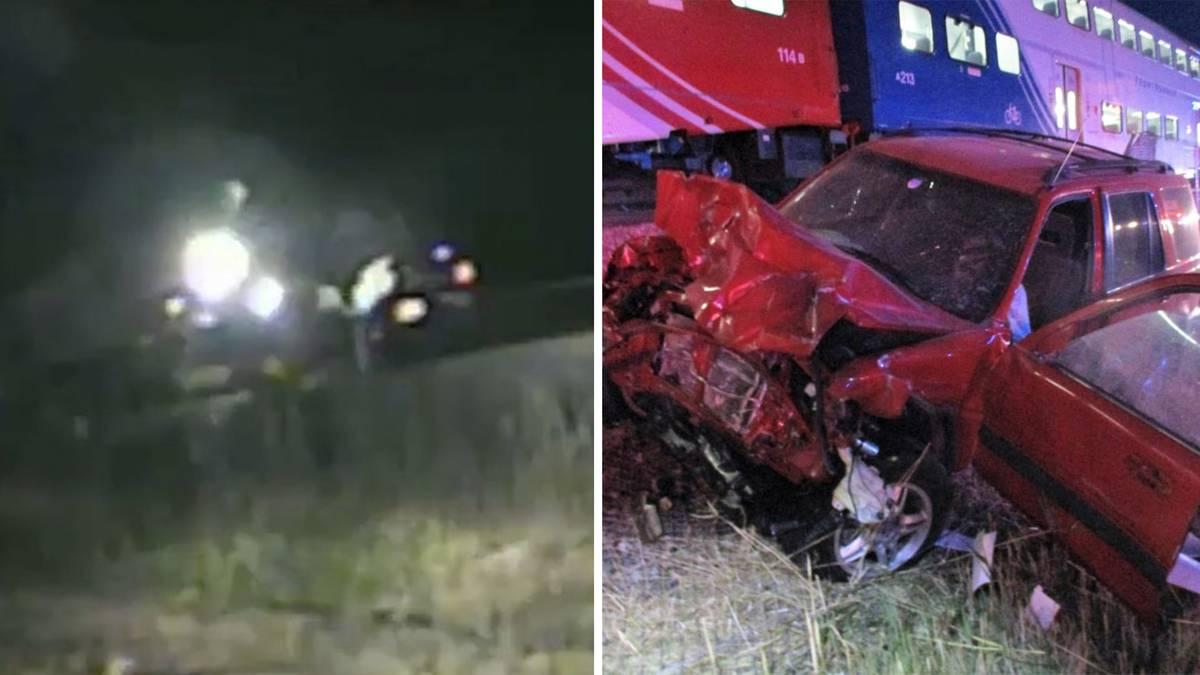 Utah: Bewusstlos im Auto auf den Bahngleisen – US-Cop rettet Mann in letzter Sekunde