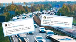 Tempolimit auf deutschen Autobahnen? Das Thema spaltet die Republik.