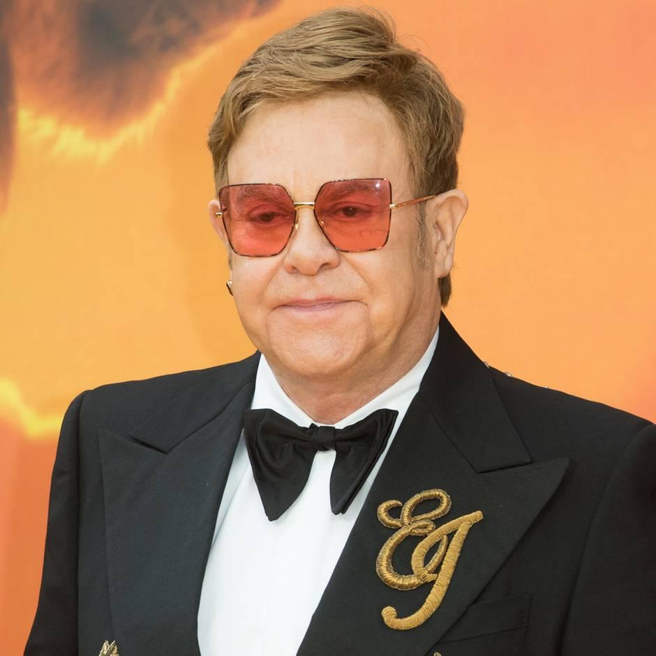 """Er war sogar beteiligt: Keine Magie, keine Freude: Elton John ärgert sich über das """"König der Löwen""""-Remake"""