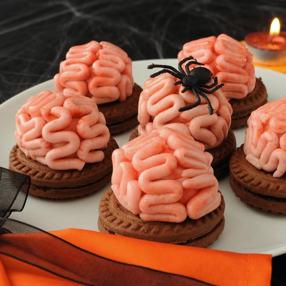 Gehirne, Mumien und Spinnen: Gruselig und lecker: Fünf schaurige Halloween-Rezeptideen zum Nachbacken
