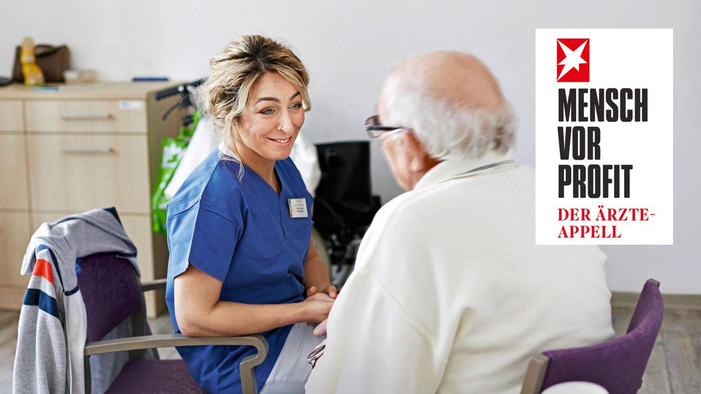 Pflegenotstand: Beispiel einer Palliativstation, die es anders macht