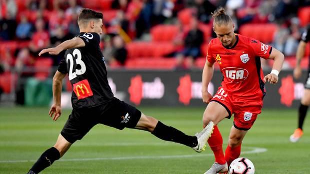 Ken Ilsö, hier im Dress seines letzten Vereins, Adelaide United