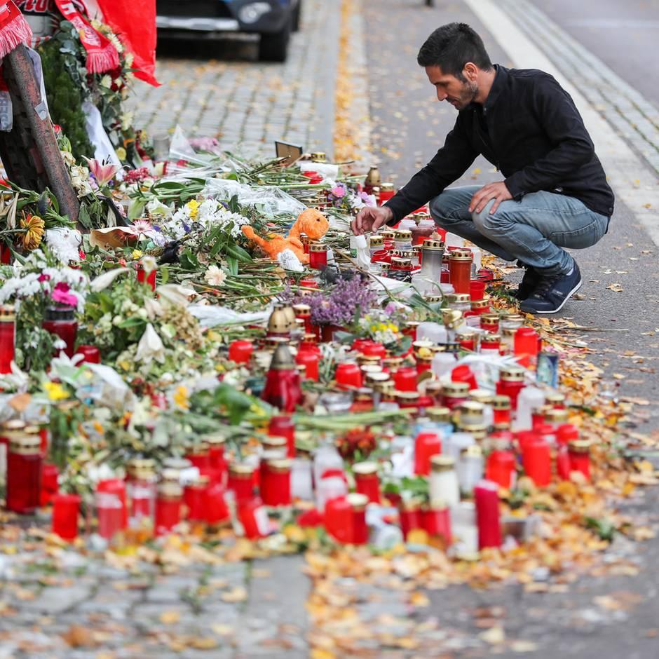 """Zwischen Trauer und Wut: """"Manche können die Bilder einfach nicht vergessen"""" – wie Halle mit dem Erlebten kämpft"""