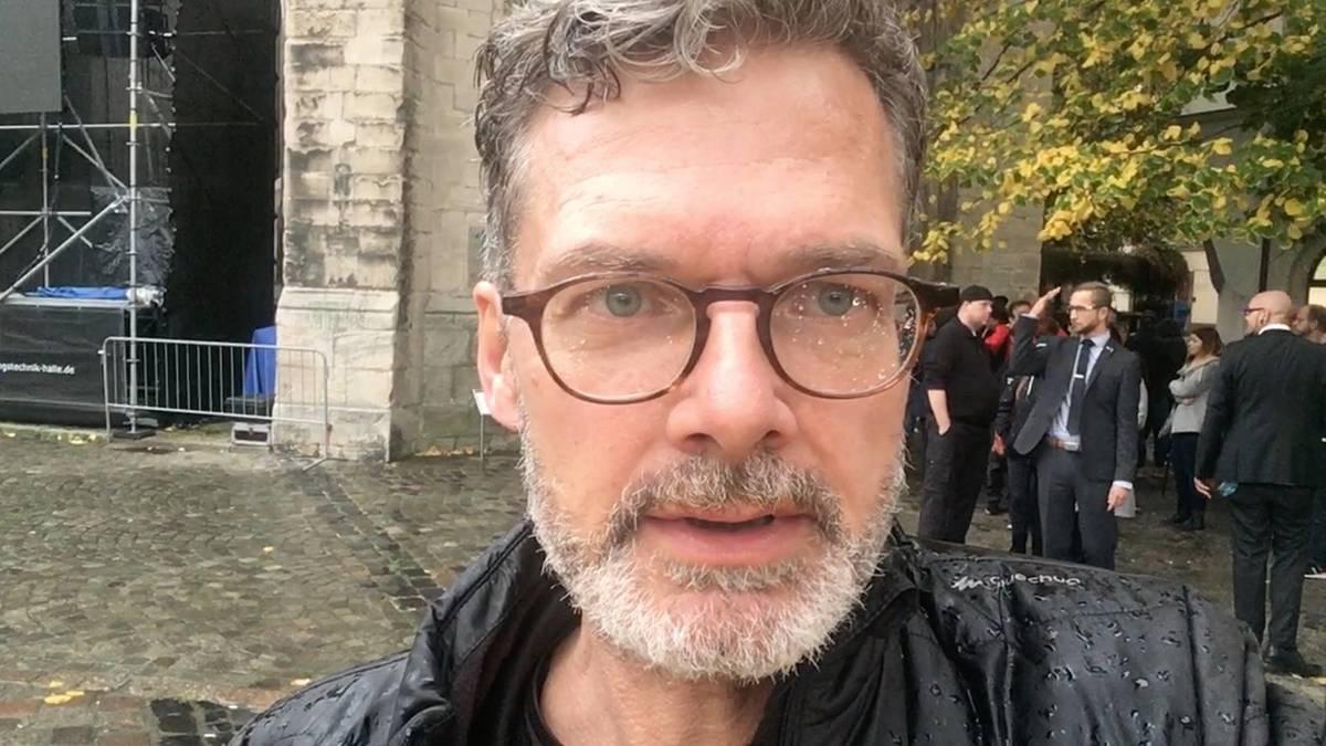 Attacke von Halle: Trauerfeier für den getöteten Kevin S. – stern-Reporter berichtet von der Zeremonie