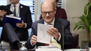 Die vielen Wesen eines Finanzministers - in Washington kam der Öko-Olafzum Vorschein.