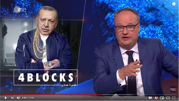 """ZDF-""""heute-show"""" und Oliver Welke nehmen sich Erdogan vor"""