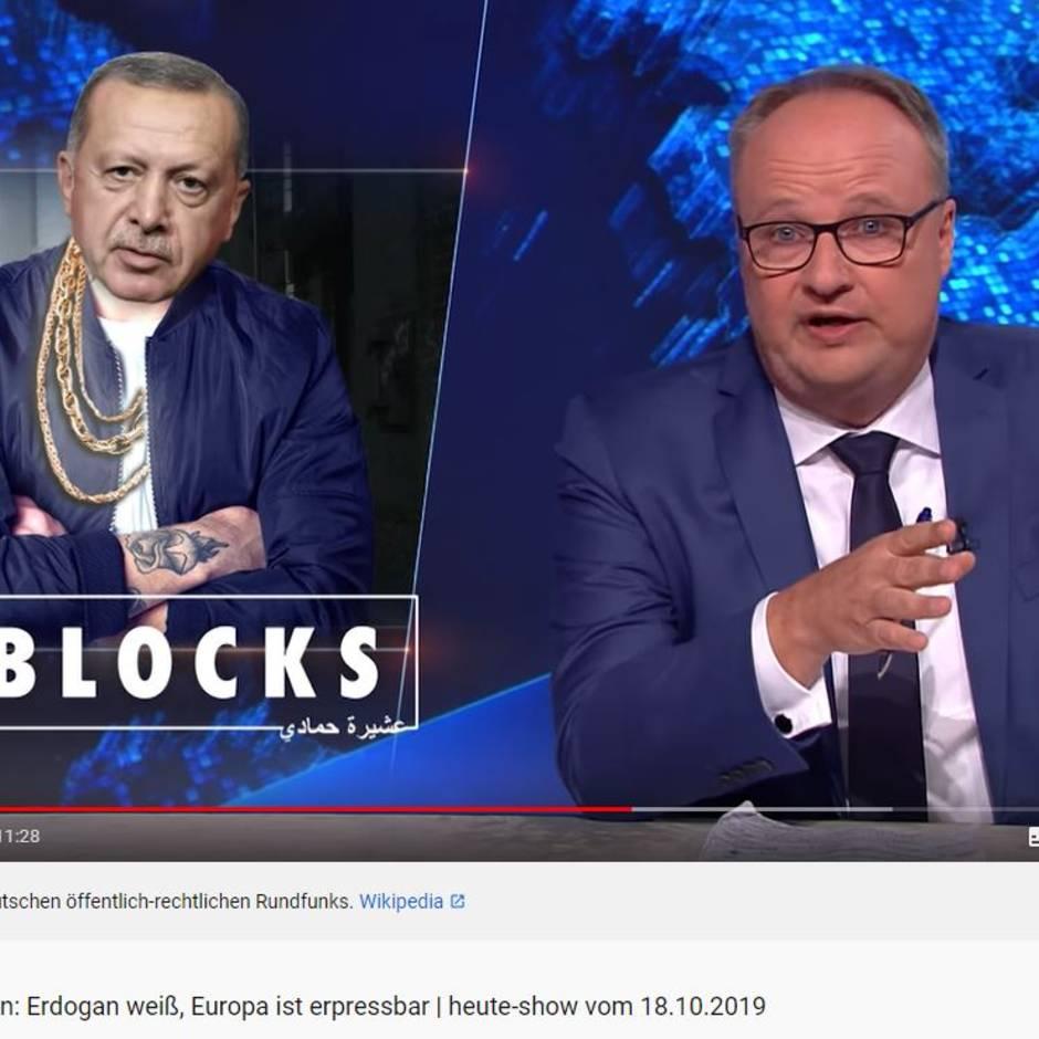 """ZDF-Satiresendung """"heute-show"""": """"Jetzt schreibt uns dieser Diktator schon unsere Wortwahl vor"""": Oliver Welke lästert über Erdogan"""