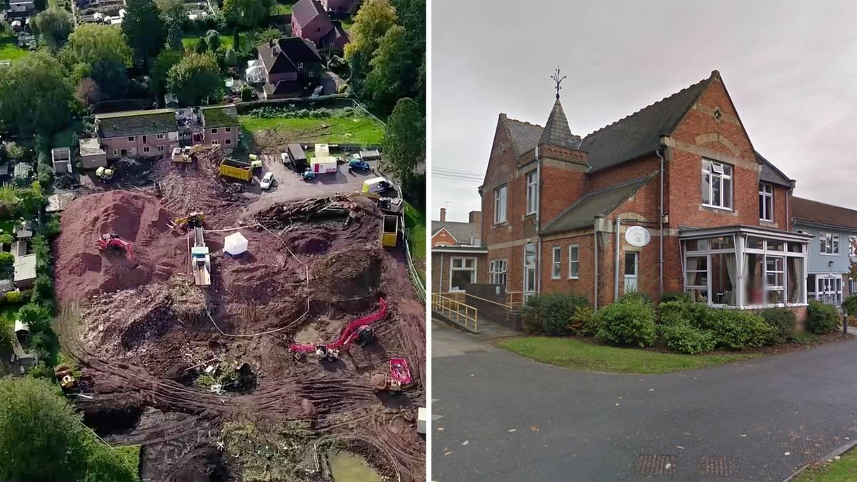 Knochenfund: Menschliche Überreste bei Altenheim-Abriss gefunden
