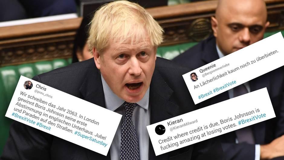 """Niederlage im Unterhaus: """"Ehre, wem Ehre gebührt – er ist verdammt gut darin, zu verlieren."""" – Twitter grillt Boris Johnson"""