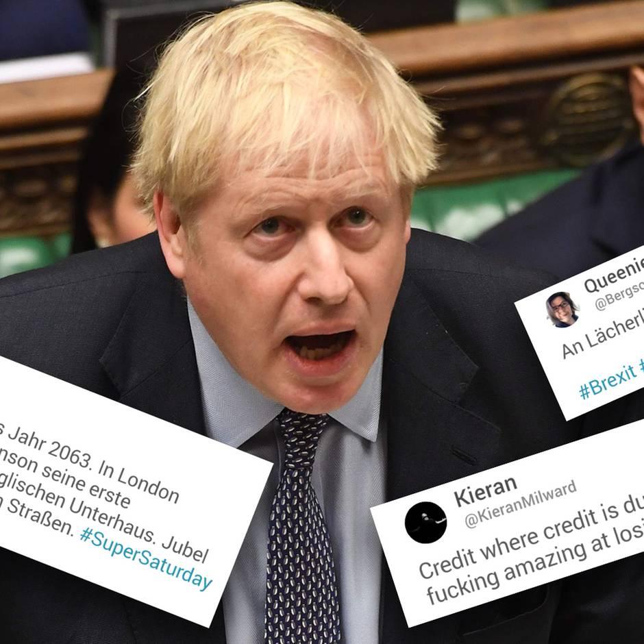 """Krimi um EU-Austritt: EU nimmt Boris Johnsons Brief """"zur Kenntnis"""" - und lässt die Briten erstmal warten"""