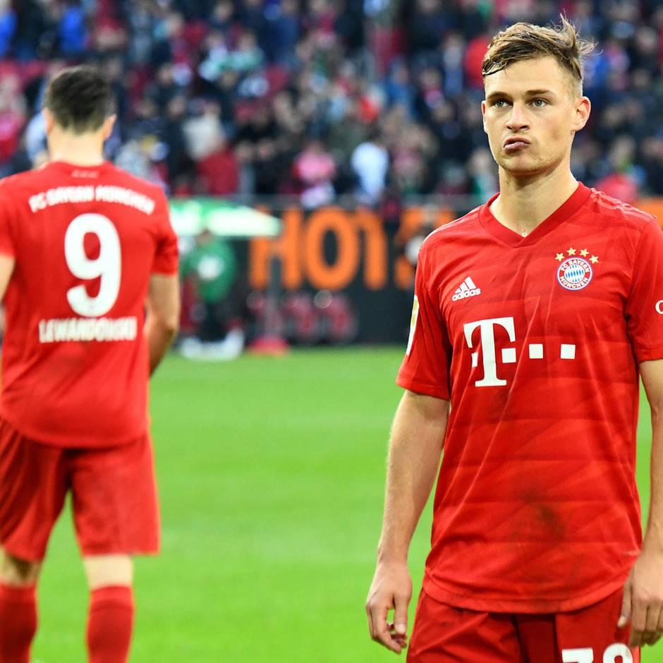 Fußball-Bundesliga: FC Augsburg schockt Bayern im Derby - Dortmund besiegt Gladbach