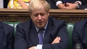Boris Johnsonim Unterhaus