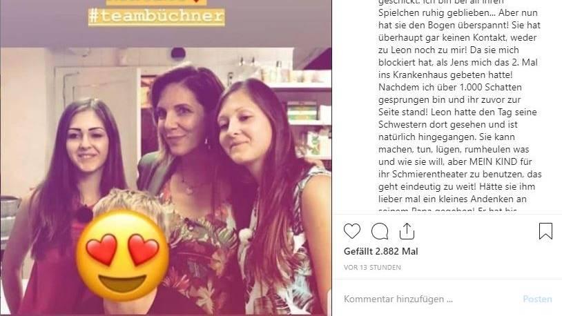 Jens Büchners Ex-Freundin und Ehefrau streiten sich (mal wieder)