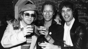 Elton John und Freddie Mercury