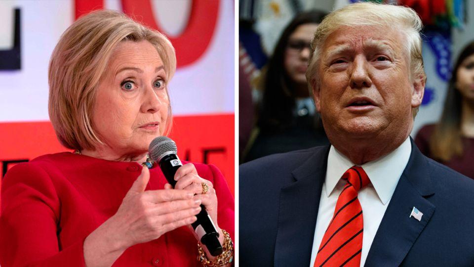 Hillary Clinton unterlag Donald Trump im Wahlkampf 2016