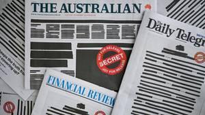 Deutlicher Protest von zahlreichen Tageszeitungen in Australien