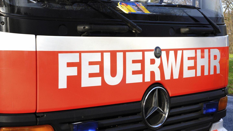 Ein Feuerwehrwagen (Archivbild)