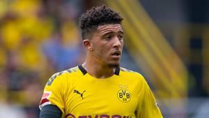 Jadon Sancho (Archivbild) ist vor demTop-Spiel gegen Borussia Mönchengladbach zu spät zum BVB zurückgekehrt