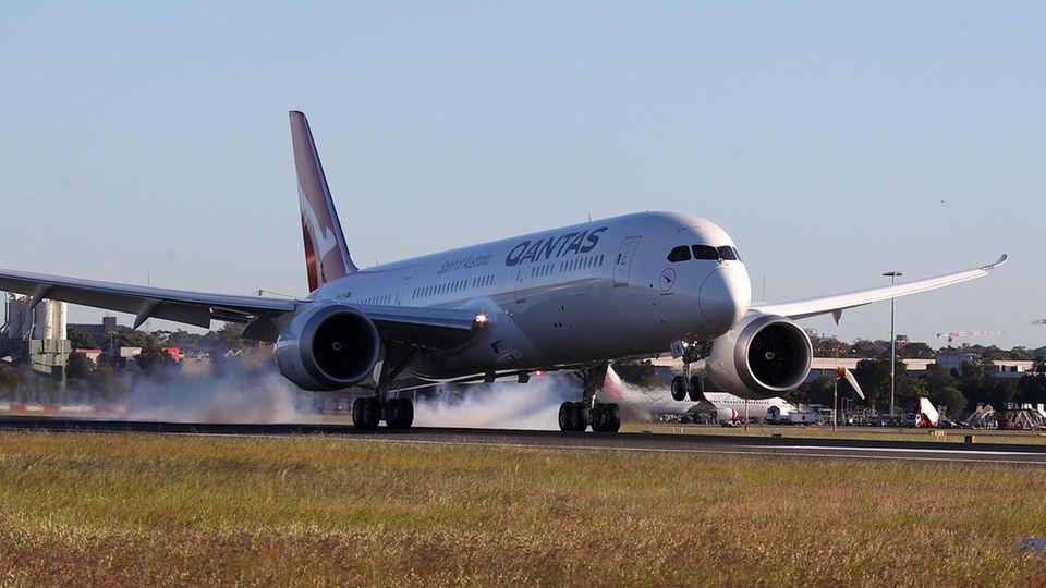 Boeing 787-9 von Qantas