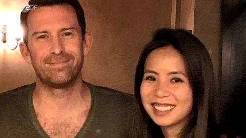 Carlo mit seiner Frau Jenifer