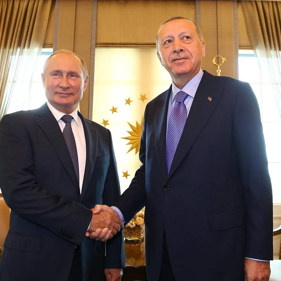 Treffen in Sotschi : Wenn Putin und Erdogan über das Schicksal der Syrer entscheiden