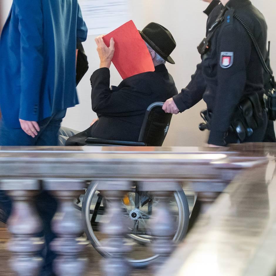 """News von heute: Angeklagter Ex-KZ-Wachmann: """"Ich habe viele Leichen gesehen"""""""