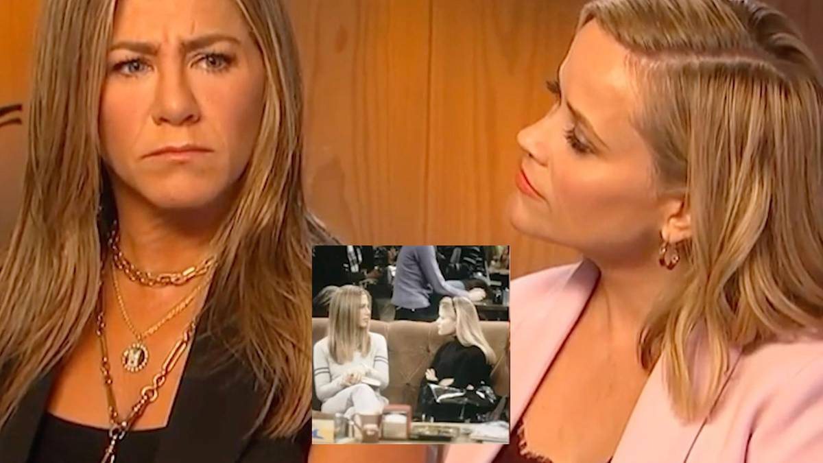 20 Jahre später: Jennifer Aniston und Reese Witherspoon lassen alte Friends-Szene aufleben