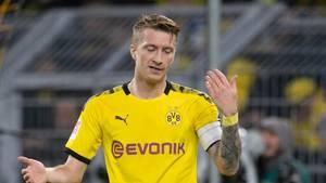Der Dortmunder Marco Reus verpasst das Champions-League-Spiel gegen Inter Mailand