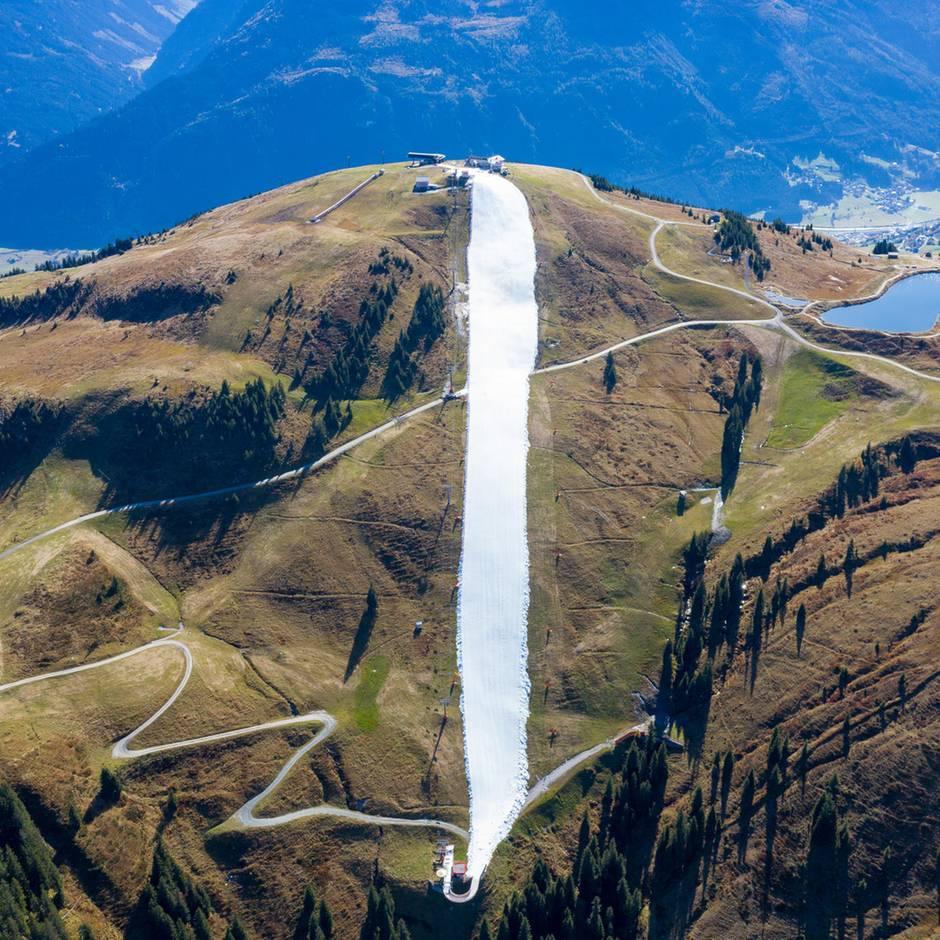 Österreich: In Kitzbühel startet die Skisaison – bei 20 Grad und Sonnenschein
