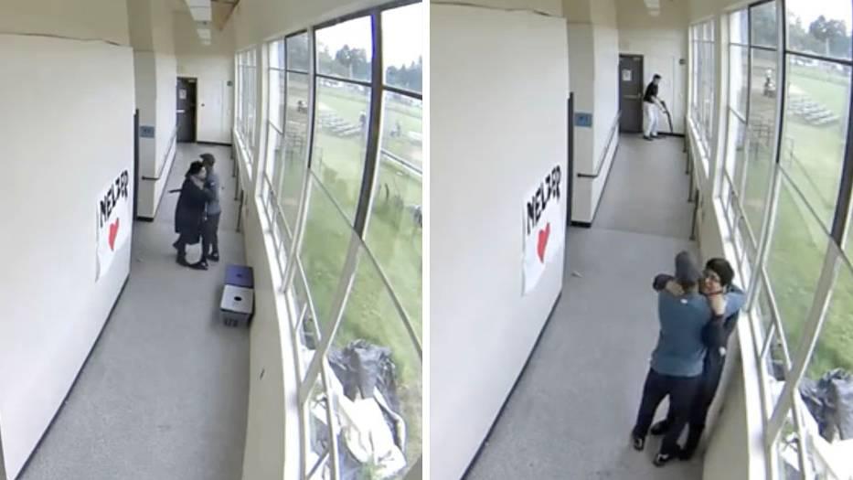 Highschool in Portland: Lehrer entwaffnet Schüler – und rettet ihm mit einer Umarmung das Leben