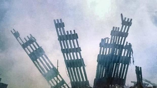 Die Ruine des World Trade Center