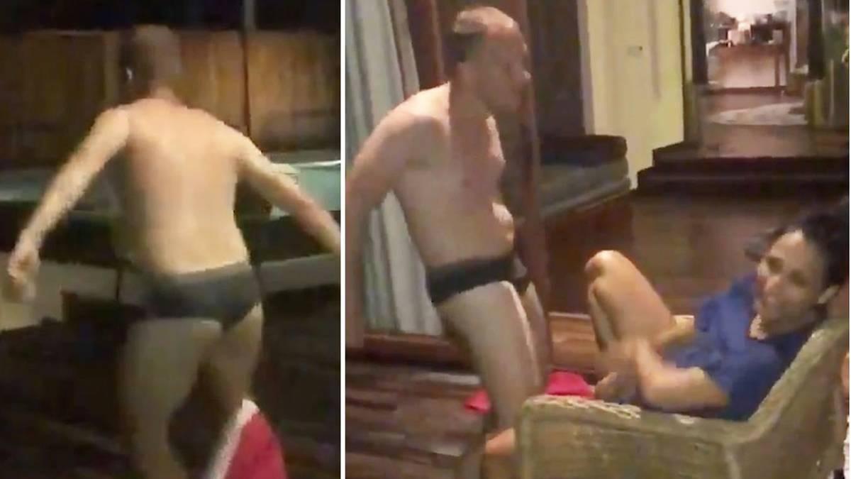 Lustig oder zum Fremdschämen?: Oliver Pocher postet privaten Striptease für Ehefrau Amira
