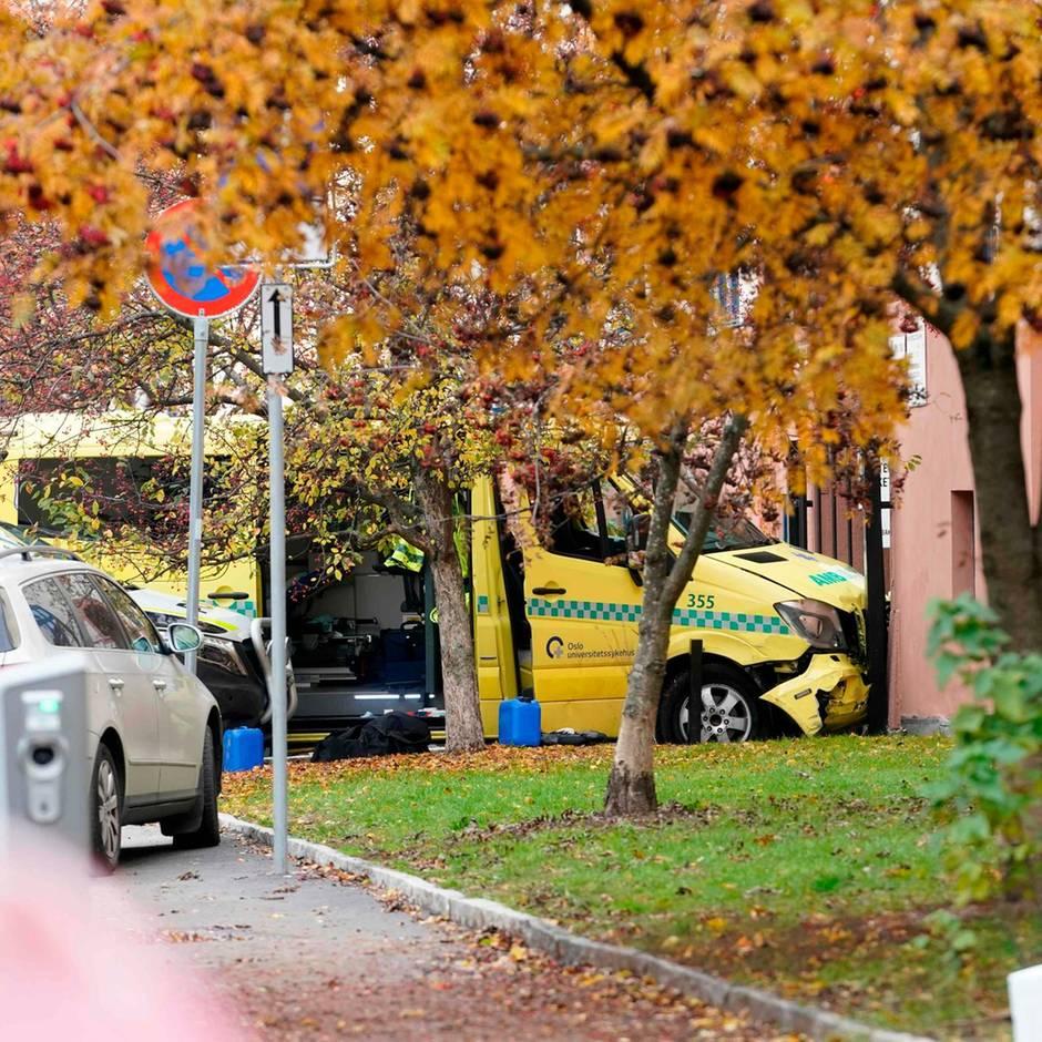 Norwegen: Mann kapert Krankenwagen in Oslo und fährt Menschen absichtlich an - zwei Festnahmen