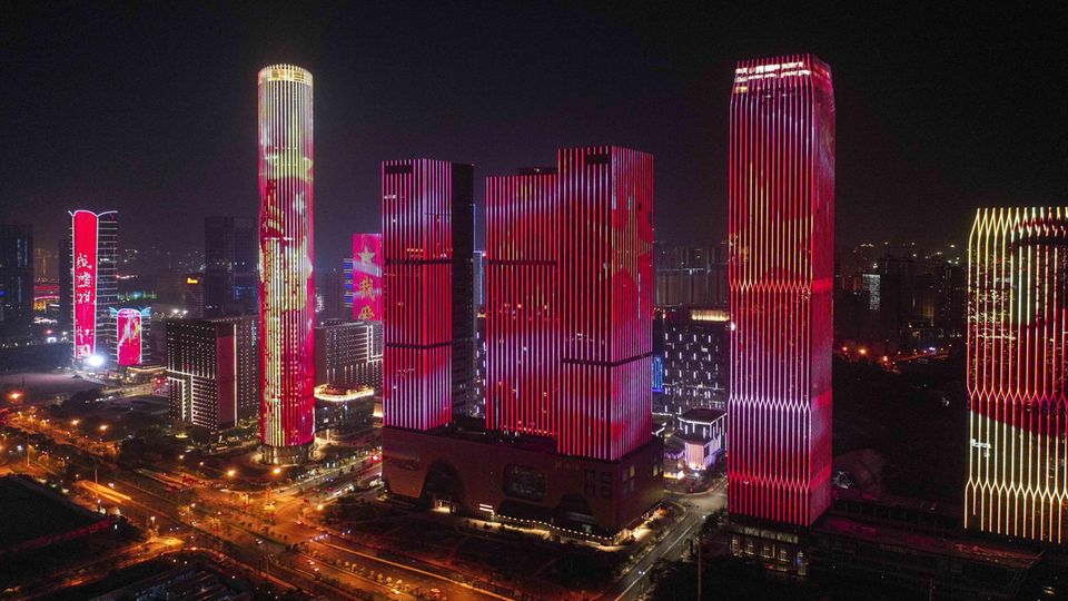 Nanning in der Guangxi-Provinz