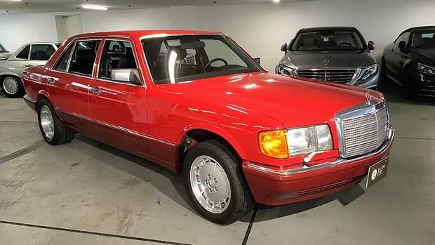 Mercedes 560 SEL W126 1991