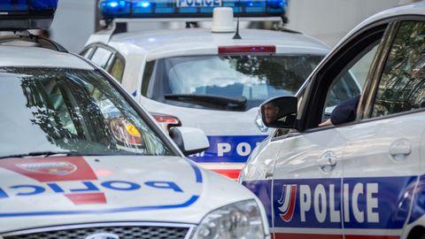 Polizeiautos in Frankreich