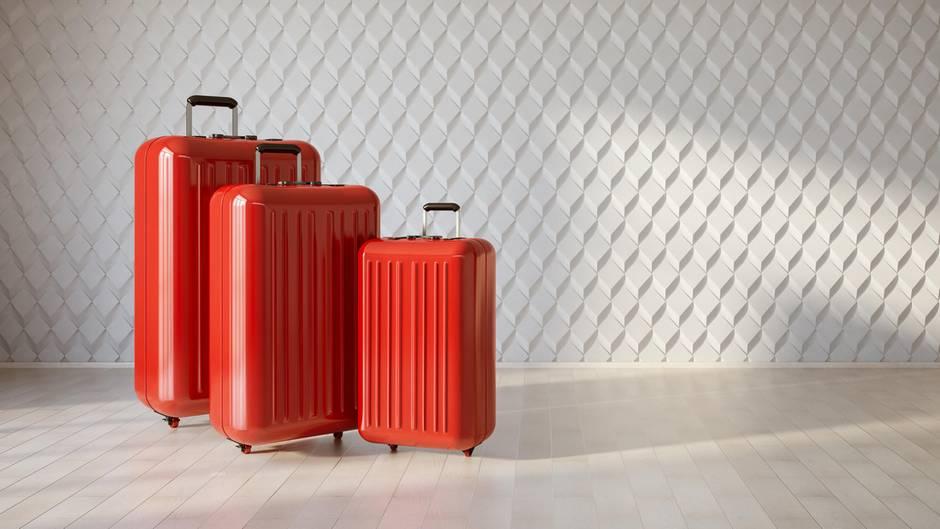 Koffer gibt es in verschiedenen Koffergrößen. Hier finden Sie eine Übersicht