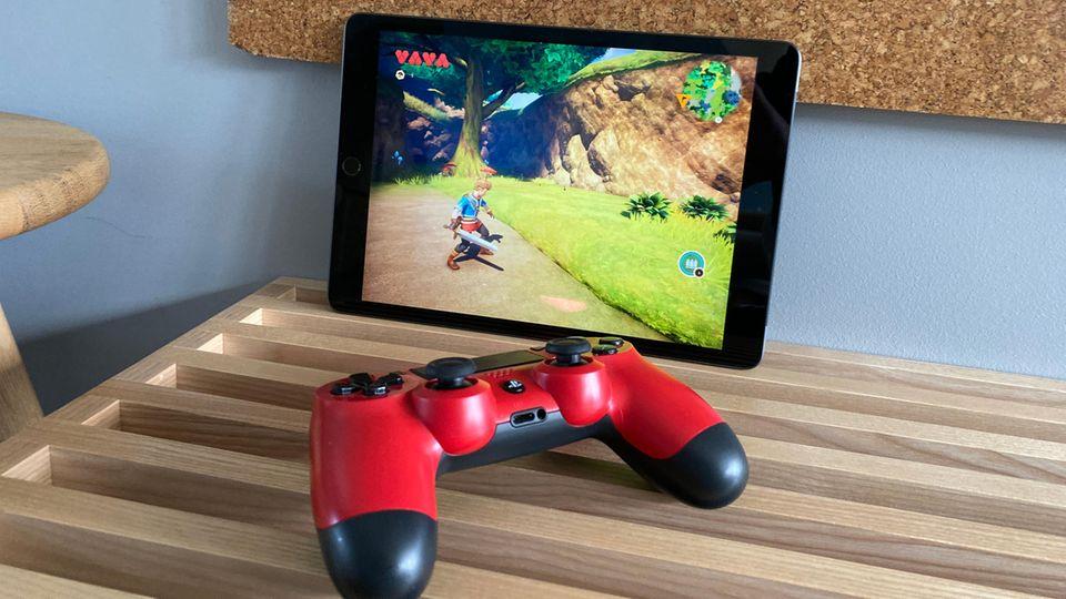 Controller der Playstation 4 oder Xbox One können via Bluetooth mit dem iPad verbunden werden.