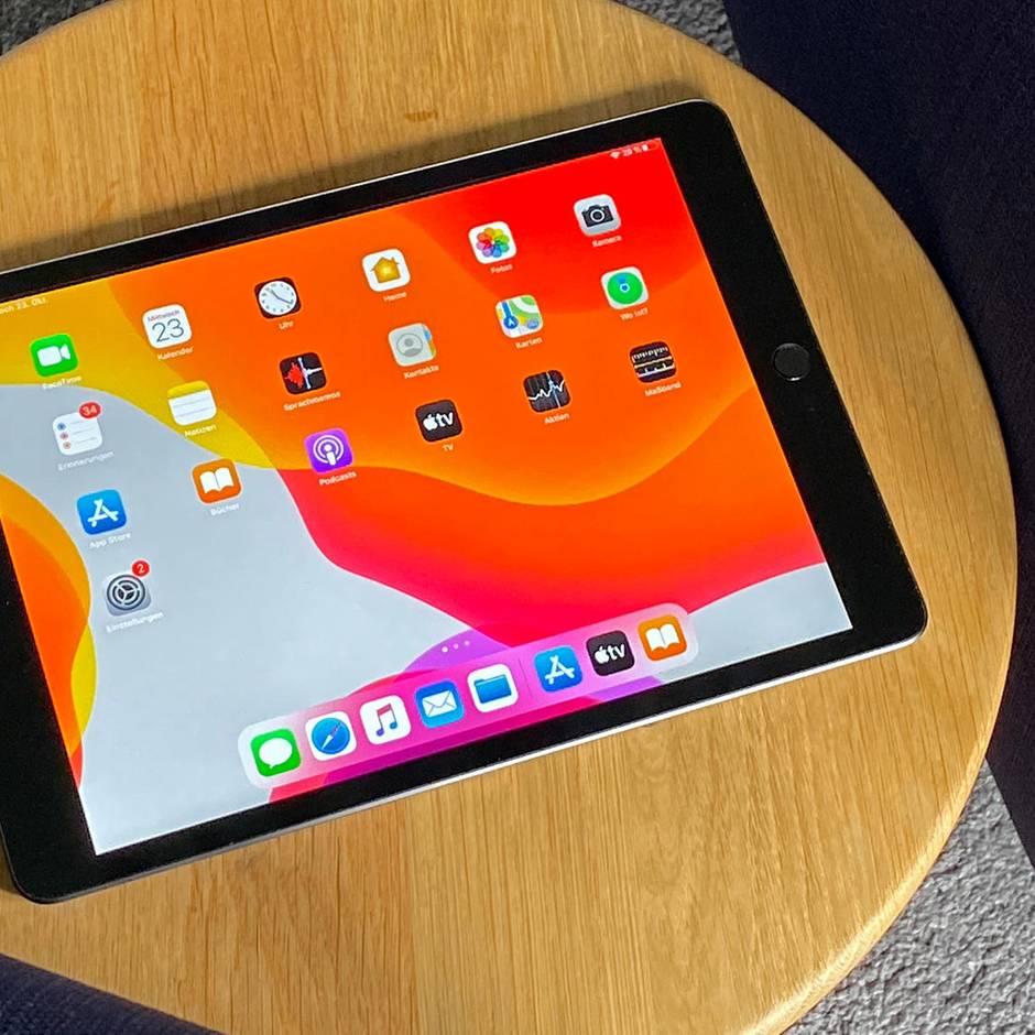 Für 350 Euro: iPad 7 im Test: Mehr Tablet braucht fast niemand