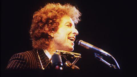 Es geht ihm gut, keine Sorge: Songwriter Bob Dylan auf der Bühne