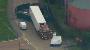 Der in England sichergestellte Lastwagen
